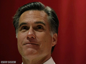Mitt Romney says Obama's spending bill would stimulate the government rather than the economy.