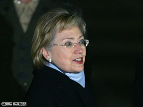 U.S. Secretary of State Hillary Clinton will arrive in Beijing on Friday.