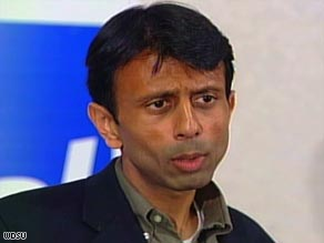 Being tapped to give the GOP response to President Obama's address elevates Gov. Bobby Jindal's standing in the party.