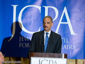 Attorney General Eric Holder says the government can fight terrorism while also honoring the Constitution.