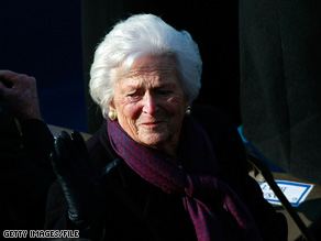 Former first lady Barbara Bush was moved from ICU Saturday after undergoing heart surgery.