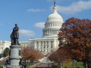 The Senate passes a bill to fund the government through the end of the fiscal year.