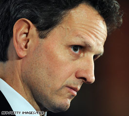 Geithner: AIG must return bonus money