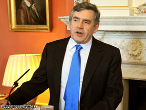 British Prime Minister Gordon Brown says that markets needs morals and they work best when values are upheld.