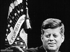 President John F. Kennedy expresses a desire to thaw U.S.-Soviet relatations, on newly released recordings.