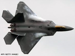 One of the high-profile programs on the chopping block is the  Air Force's most expensive fighter, the  F-22 Raptor.