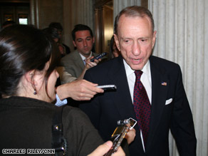 Pennsylvania Sen. Arlen Specter has lost his seniority on Senate committees after recently switching parties.