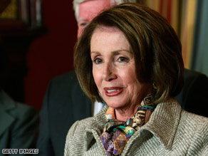 Pelosi told reporters last month that she was told about the legal justification for the interrogation techniques.