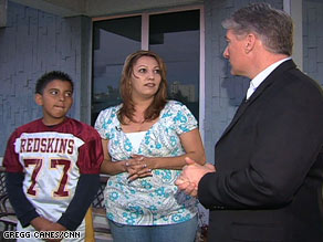 CNN's John King talks to Ruth Martinez and her son Jacob.