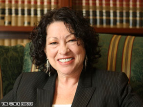 Judge Sonia Sotomayor would be the first Hispanic U.S. Supreme Court justice if confirmed.