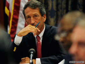 Gov. Mark Sanford has said it's better for him to keep his governorship to learn lessons.