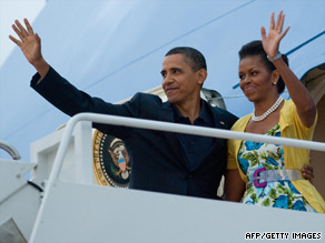 President Obama and first lady Michelle Obama leave for Russia on Sunday.