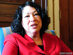 Supreme Court nominee Sonia Sotomayor has met privately and separately with more than 70 senators.