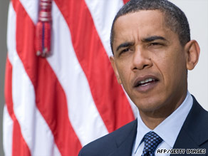 President Obama says political motives are behind the Republicans' opposition to the Democrats' plans.