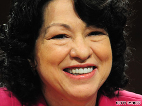 Sonia Sotomayor will be the third female justice in Supreme Court history.