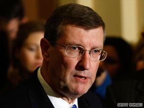 Democratic Sen. Kent Conrad, of North Dakota, says a public option plan might not make it through Congress.