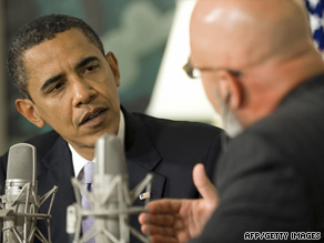 President Obama discusses health care with conservative radio host Michael Smerconish.