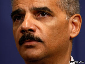 Attorney General Eric Holder is considering appointing a prosecutor to investigate a CIA interrogation program.
