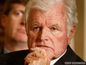 Sen. Ted Kennedy wrote to Pope Benedict XVI, asking the pontiff to pray for him as he dealt with cancer.