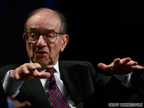 Former Fed Chairman Alan Greenspan, shown here in 2008