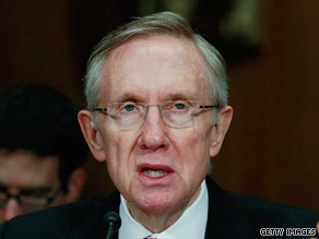 Senate Majority Leader Harry Reid will be a key player in putting a health care bill together.