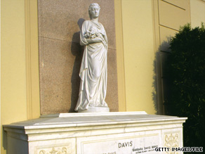 Bette Davis is among the notables buried at the Hollywood Hills Forest Lawn park.