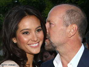 It is the second marriage for actor Bruce Willis, 54, and the first for model-actress Emma Heming, 30.