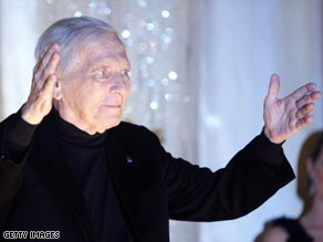 Movie composer Maurice Jarre pictured at the Berlin International Film Festival last month.