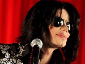 Michael Jackson on Thursday announces a series of concerts in London, England.