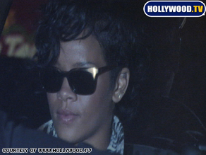 Singer Rihanna, shown here in a recent photo, was allegedly attacked by her boyfriend, singer Chris Brown.