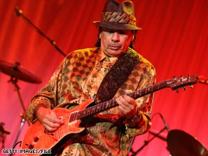Santana will not play any other shows west of the Mississippi River over the next two years.