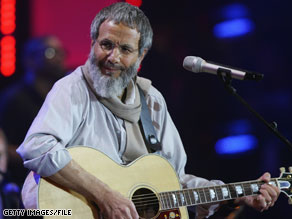 Yusuf, formerly known as Cat Stevens, believes he can help bridge gaps between cultures.