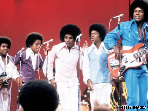 The Jackson brothers, here in the 1970s, were driven to be great by their father, Joseph.