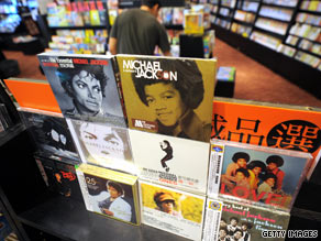 Stores across the country are seeing a surge in sales for Michael Jackson's music.