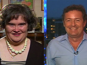Judge Piers Morgan admits that he expected Susan Boyle's audition to be a joke before she began singing.