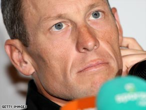 Armstrong is under the spotlight over a doping test he gave on March 17.