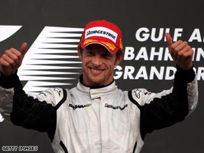Jenson Button is taking control of this year's F1 worrld championship after his third win in four races.
