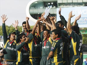 Pakistan went one better after losing in the final of the inaugural World Twenty20 to India.