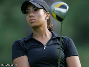 Cheyenne Woods was handed entry into the Wegmans tournament on a sponsor's invite.