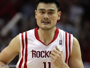 Yao Ming's future could be in danger due to his persistent foot injury.