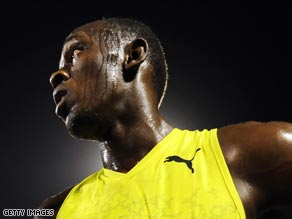 Usain Bolt is on great form ahead of the World Championships in Berlin next month.