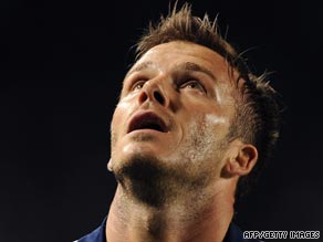 Beckham has been involved in another argument with a fan just a week after a previous confrontation.