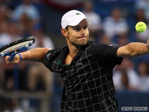 Andy Roddick faces his 2007 final opponent John Isner in the semifinals in Washington.