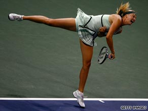 Maria Sharapova is seeking to win her 20th title on the WTA Tour with victory in Los Angeles.