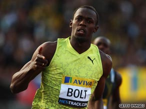 Usain Bolt is aiming to emulate the great Jesse Owens at the Berlin World Athletics Championships.