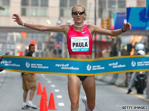 Marathon record-holder Paula Radcliffe is still hoping to compete at the 2012 Olympics.