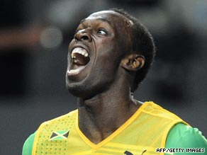 Jamaican sprinter Bolt is a born entertainer both on and off the athletics track.