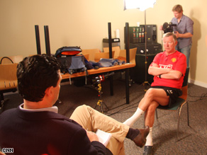 Ferguson sits down with CNN's Pedro Pinto to discuss a career that has included 23 years at Old Trafford.