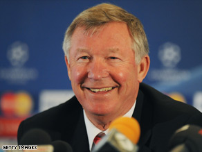 Alex Ferguson in upbeat mood ahead of Manchester UNited's semifinal against Arsenal