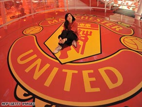 United's worldwide appeal has brought them a reported record $131m sponsorship with a U.S. insurance giant.
